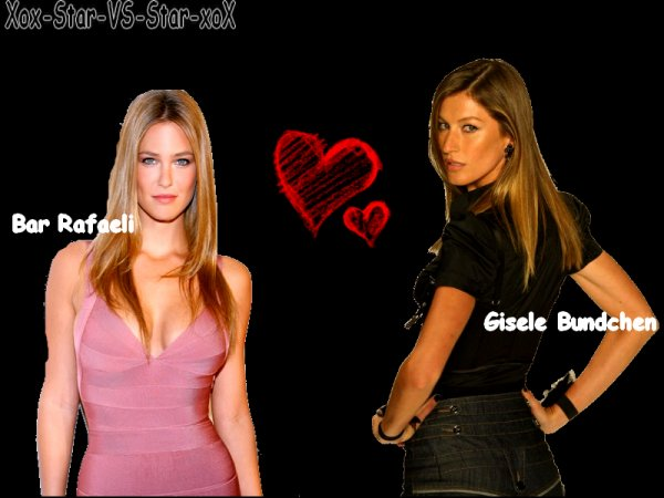 Bar Rafaeli VS Gisele Bundchen