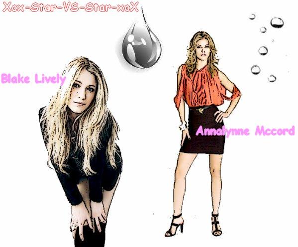 Black Lively VS Annalynne Mccord
