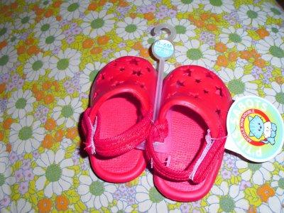 les petites chaussures rouge