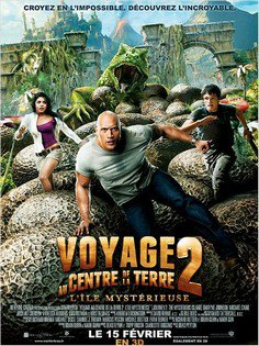 ➽ VOYAGE AU CENTRE DE LA TERRE 2 : L'île mystérieuse | ★★★★★ |