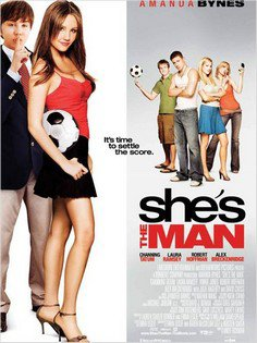 ➽ SHE'S THE MAN | ★★★★★ |