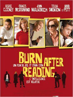 ➽ BURN AFTER READING | ★★★★★ |