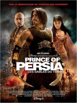 ➽ PRINCE OF PERSIA : LES SABLES DU TEMPS | ★★★★★ |