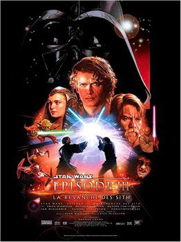 ➽ STAR WARS III, LA REVANCHE DES SITH | ★★★★★ |