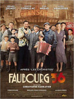 ➽ FAUBOURG 36 | ★★★★★ |