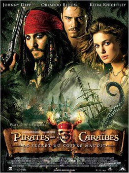 ➽ PIRATES DES CARAIBES : LE SECRET DU COFFRE MAUDIT | ★★★★★ |