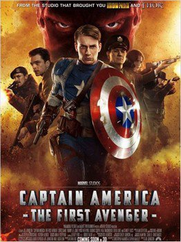 ➽ CAPTAIN AMERICA : THE FIRST AVENGER | ★★★★★ |
