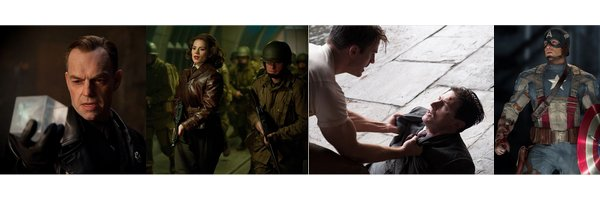 ➽ CAPTAIN AMERICA : THE FIRST AVENGER | ★★★★★ |