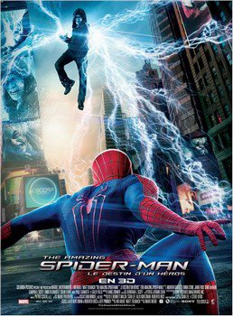 ➽ THE AMAZING SPIDERMAN 2 : LE DESTIN D'UN HEROS | ★★★★★ |