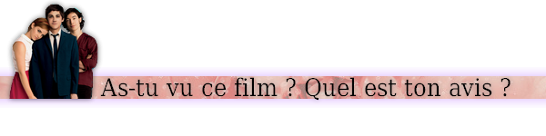 ➽ LES PROMESSES DE L'OMBRE | ★★★★★ |
