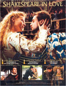 ➽ SHAKESPEARE IN LOVE | ★★★★★ |