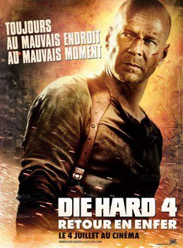 ➽ DIE HARD 4, RETOUR EN ENFER | ★★★★★ |