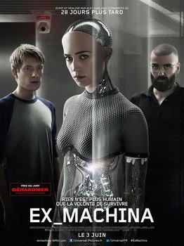 ➽ EX MACHINA | ★★★★★ |