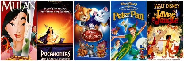 Mon top 10 des Disney classiques