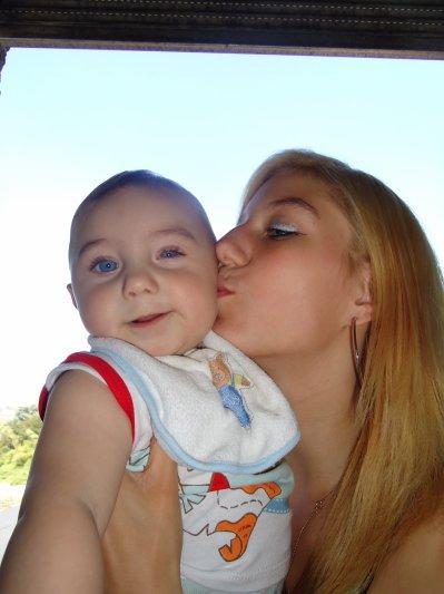 lionel et sa maman