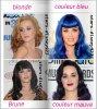 Katy perry sous toutes ses couleurs !