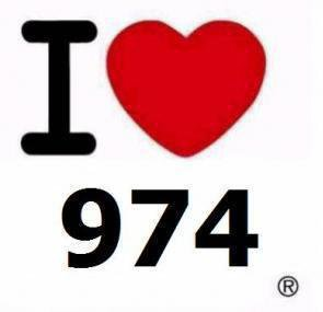 I Love 974