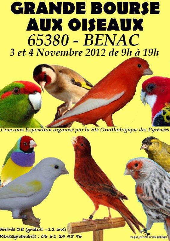 Concours Expo Bourse à LOURDES / BENAC