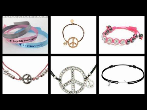 Les bracelets d'amitié