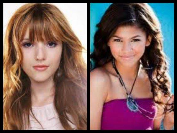 Qui préféré vous entre Bella et Zendaya ?