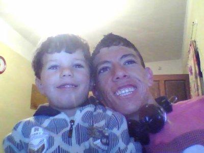 moi et mon petit frèrè