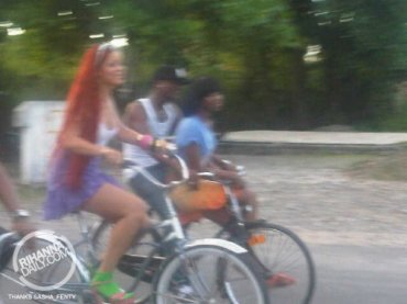 "rihanna in Jamaica shooting video ""Man Down"""
