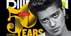Bruno covers Billboard 20 anniversary Magazine