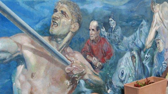 peinture dans les ruelles en Italie