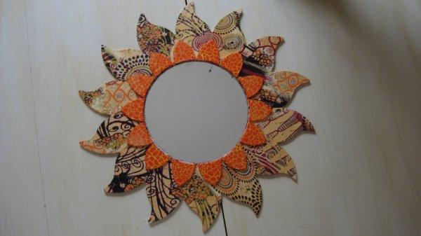 Soleil miroir décopatch