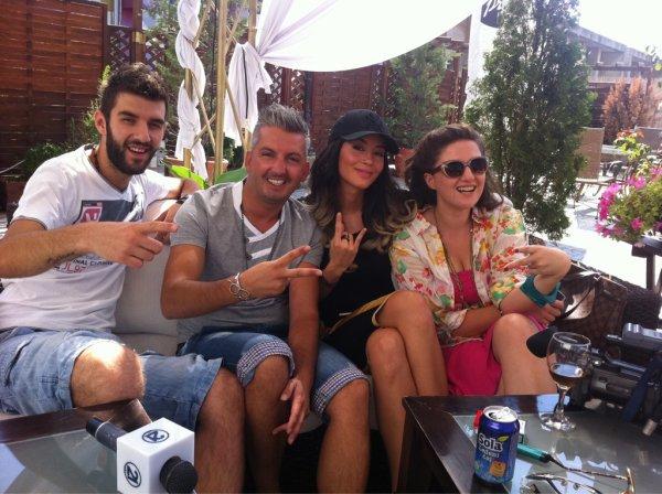 Dafina Zeqiri with friends in 21 !!