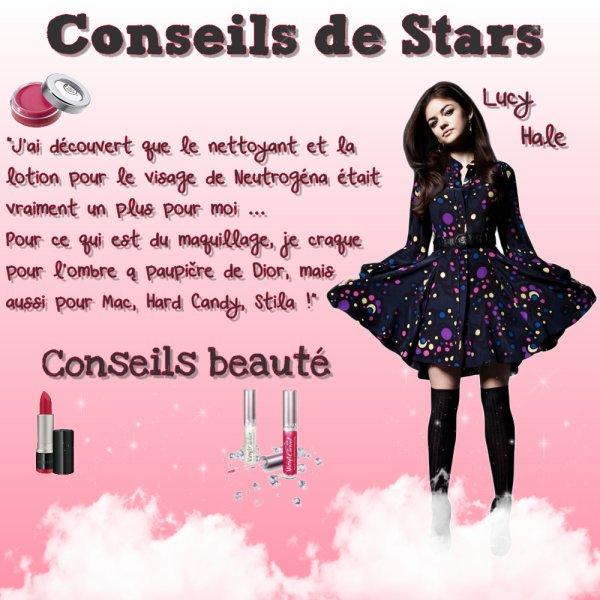 Conseils de stars !