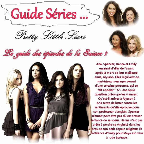 Guide séries !