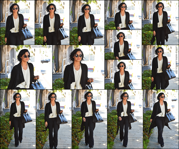 *  12.04.2016 - Demi Lovato a quitté un studio d'enregistrement qui se situait à West Hollywood, en Californie ! *