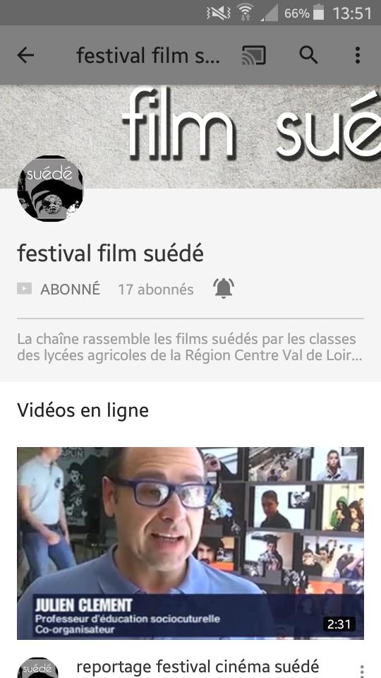 Festival films suédés