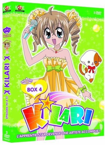 produit kilari(,box ,tome 8 de kilari en francais)