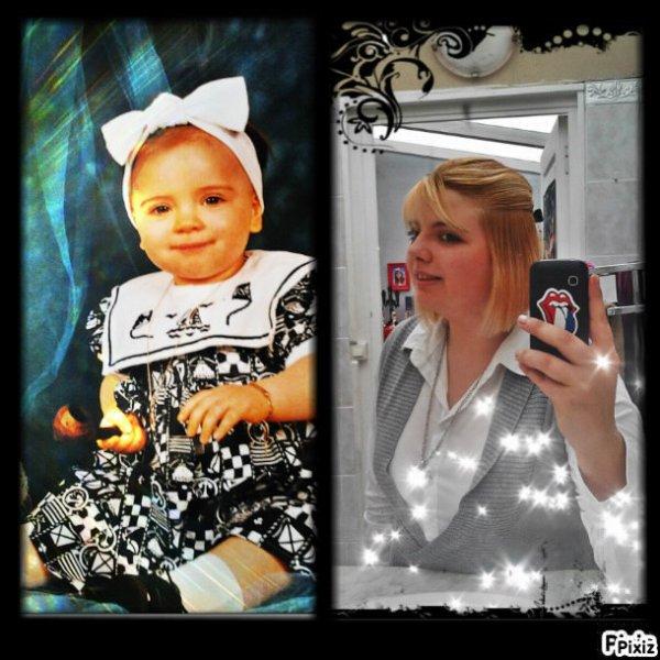 mwa avant et maintenant =)
