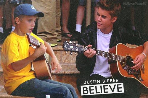 (Une lettre de Justin) I'M CRYING