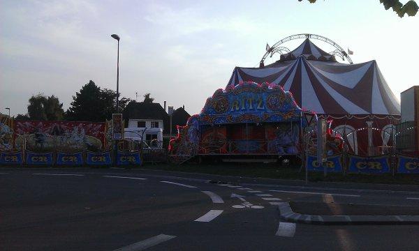 Vue rapide du Cirque Romane Ritz en 2014