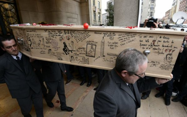 CHARLIE HEBDO : HOMMAGES