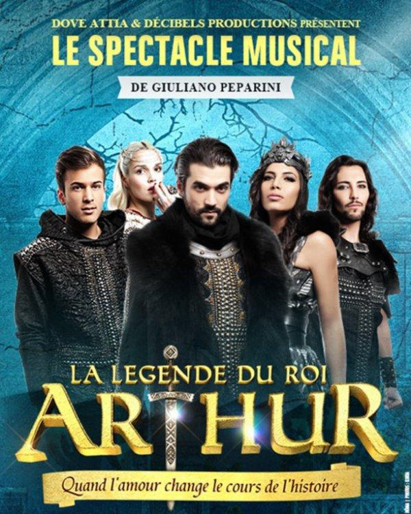 """NOUVELLE COMÉDIE MUSICALE DE DOVE ATTIA """" LA LÉGENDE DU ROI ARTHUR """""""