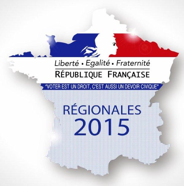 RÉGIONALES 2015 : POUR QUI VOTEREZ VOUS ?