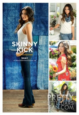 Photo de Shay Mitchell pour American Eagle