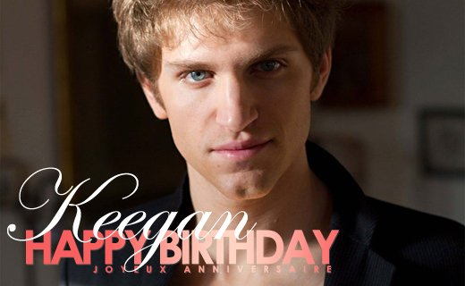 Happy birthday Keegan Allen !!