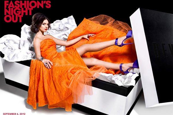 Lucy Hale et Janel Parrish seront présentes à l'événement Fashion's Night Out