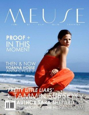 Tammin Susok en couverture d'un magazine