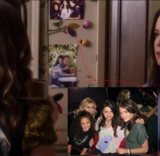Une photo de Selena Gomez dans la série !