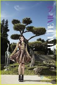 Lucy Hale en couverture du magazine HAUTEMUSE