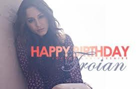 Happy Birthday Troian Bellisario !
