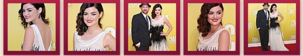 Lucy Hale au 46th Annual CMA Awards
