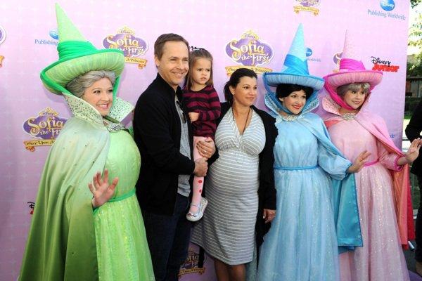 Chad Lowe et sa famille à l'avant-première d'un film Disney !